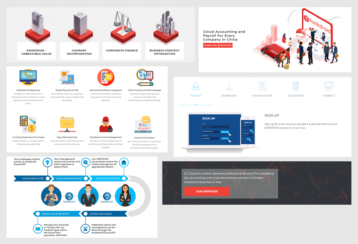 web elements - fixy creative